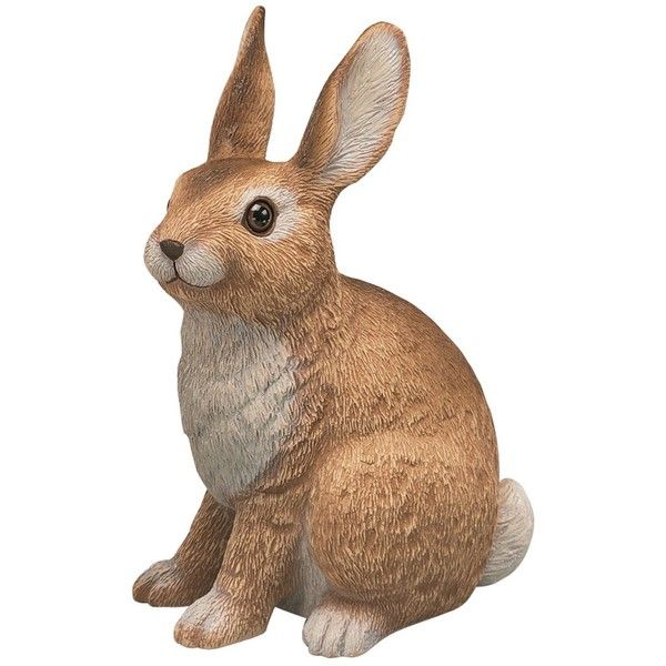 Sculptural Gardens Rabbit Garden Statuary Durable All Weather Material  Resists Breakage. Filled For Both Added Weight And Stability Realistic  Looking Eye ...