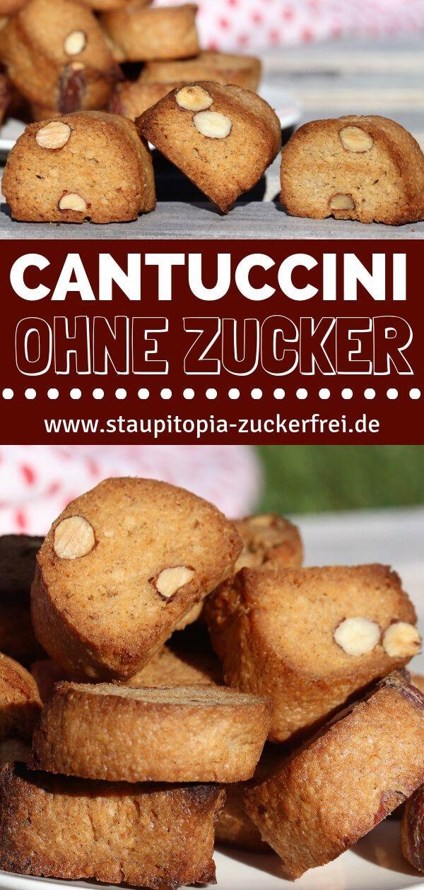 Cantuccini ohne Zucker