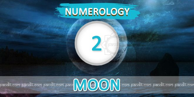 """"""" Numerology Number 2 """" by Numerologist Rahul Kaushal ------------------------------------------------------ Numerology Number 2 : This number two is represented by """"moon"""" which is a watery plannet. Those who born on 2nd, 11th , 20 & 29 in date of any month are governed by this plannet. These natives are of wavering mind having cnumganble nature as well as remain in their own world of imagination and dreams of their thoughts http://www.pandit.com/numerology-number-2-chart/"""