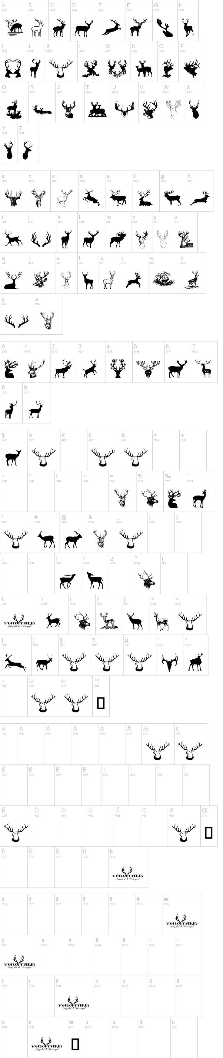 Deers dafont.com