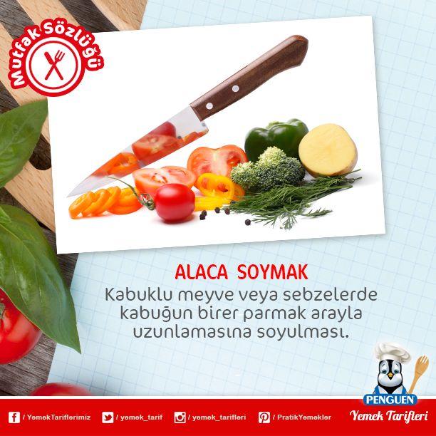 Mutfak terimlerinden ALACA SOYMAK nedir, biliyor musunuz?
