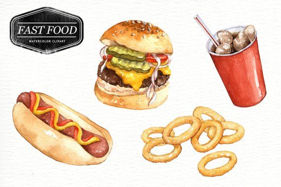 NEW CANDY SWEETS /& BURGERS STICKERS Junk Food Cake Fries  *YOU CHOOSE DESIGN*