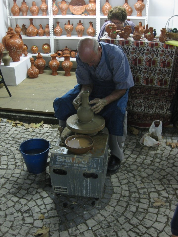 Nisa Pottery Marvao, Alentejo, Portugal