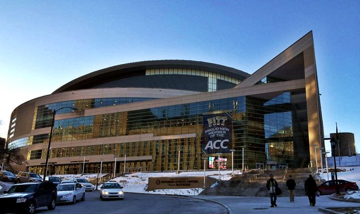 The Petersen Events Center home of the Pitt Panthers basketball #ACC