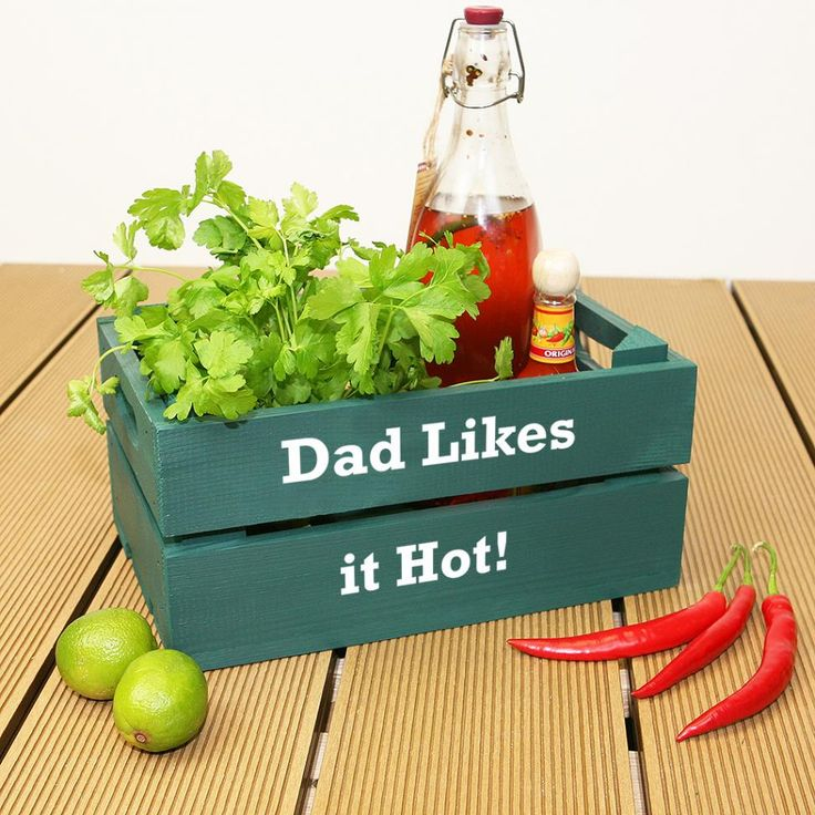 Personalised Fathers Day Crate Gift