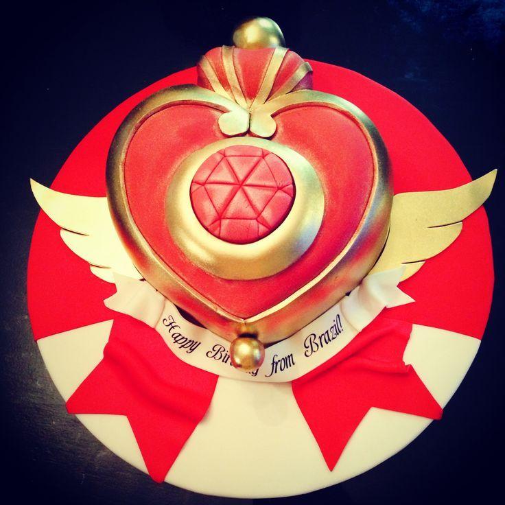 Sm Cake · Sailor Moon KuchenBento LebensmittelKreative DessertsSchöne ...