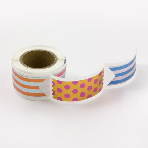 Roll of Stickers - Ribbon - 90 pack