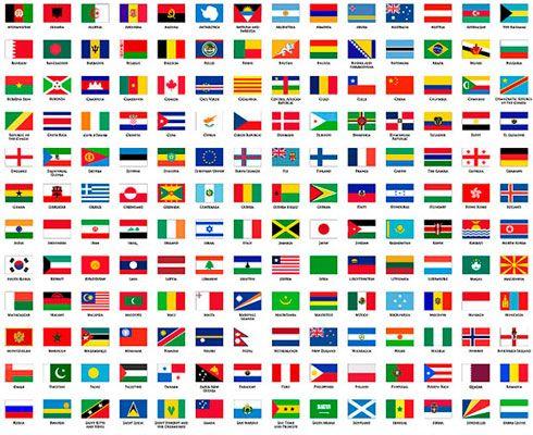 Die besten 25 Flaggen der welt Ideen auf Pinterest
