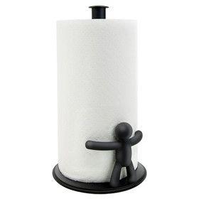 Buddy Paper Towel Holder in Black