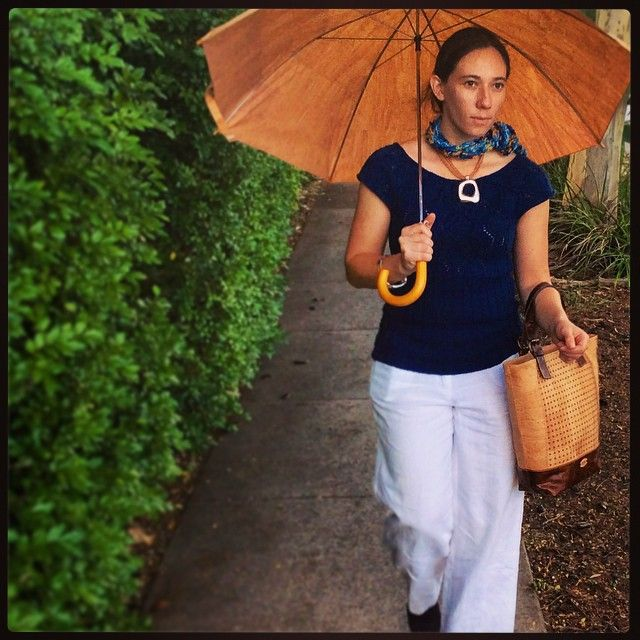 """Come rain or come shine, the day goes on! #Waterproof #Fashion #Accessories and #newcollection #summercollection #Handbags #MadeWithCork at #CorkLeather for #SpringSummerFashion visit www.corkleather.com.au"" Photo taken by @corkleather on Instagram"