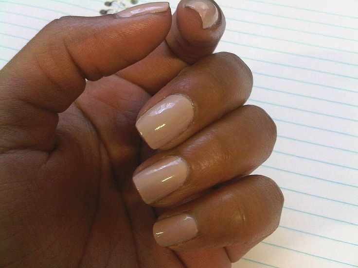 Image Result For Best Neutral Nail Polish Black Women