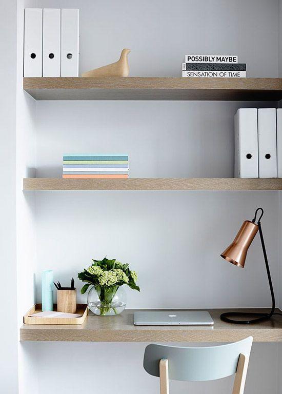 Kleine werkplek in huis | Wooninspiratie