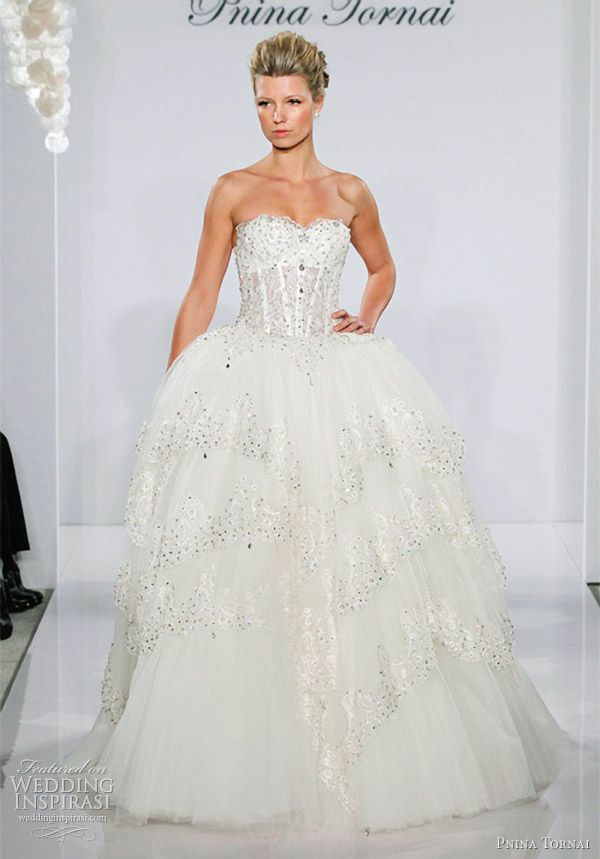 17 best images about pnina tornai on pinterest drop for Pnina tornai wedding dresses prices