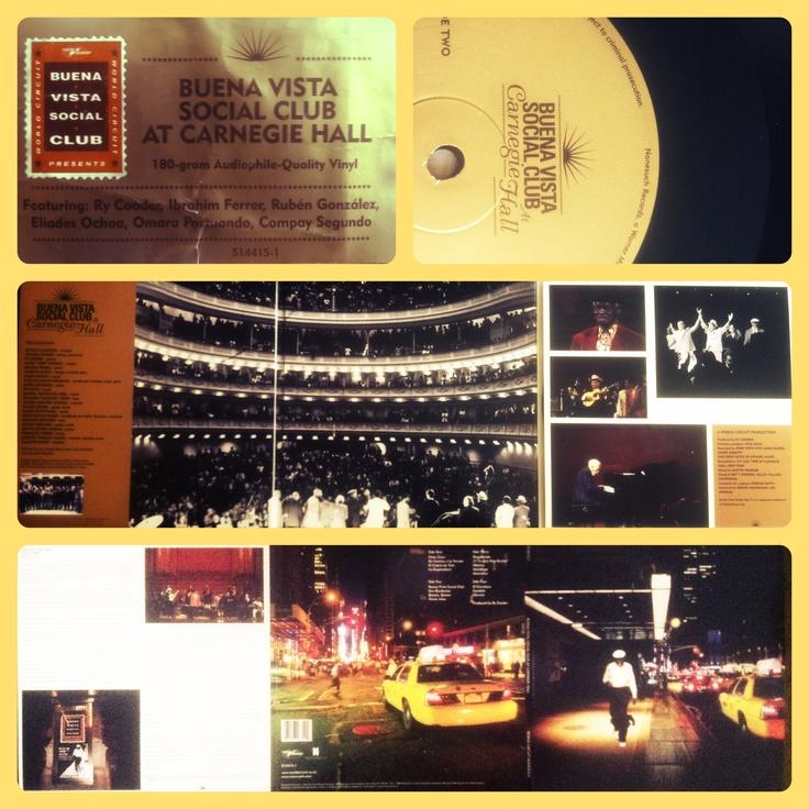 "Buena Vista Social Club At Carnegie Hall (Editado en 2008, concierto de 1998) / Mención honrosa ""Silencio"" http://youtu.be/0mStndtGGOE / Escuchar disco completo http://bit.ly/RG4ft"