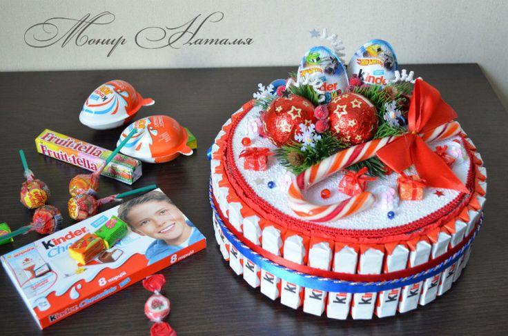 Gallery.ru / Фото #129 - Тортики из конфет - monier