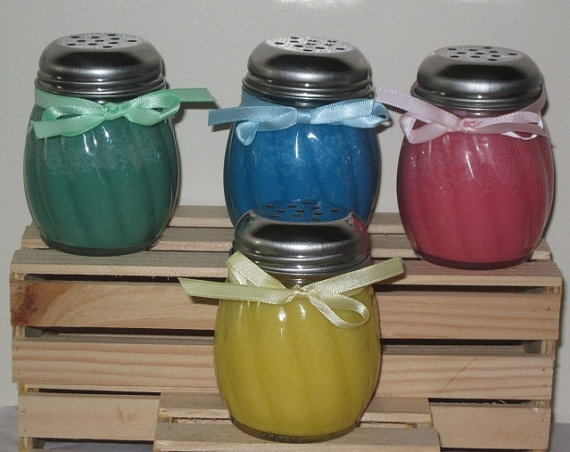 5 oz Shaker Candle by JSHomespunCreations on Etsy, $7.00