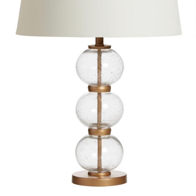 Stacked Glass Orb Audrey Table Lamp Base V1 Table Lamp Base Lamp Bases Table Lamp