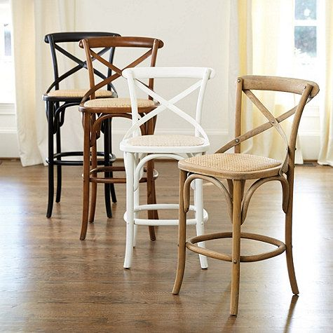 Constance Wood Counter Stool