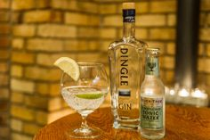 Dingle Gin - one of our premium gins available alongside our premium whiskey menu.