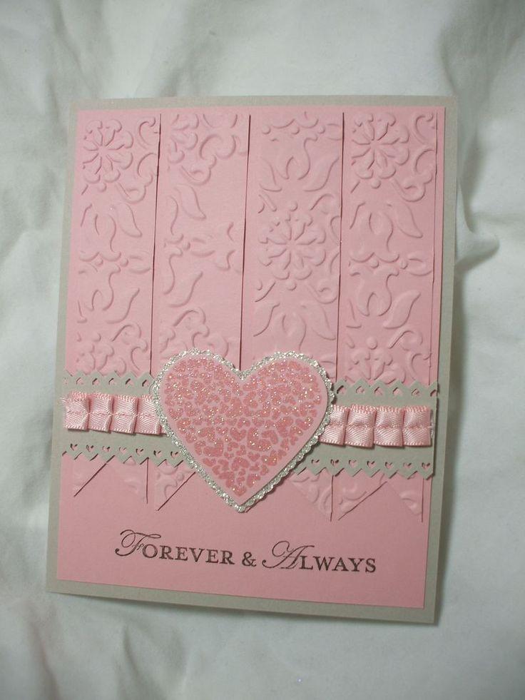 wedding anniversary greeting cardhusband%0A Forever  u     Always  pretty pink card