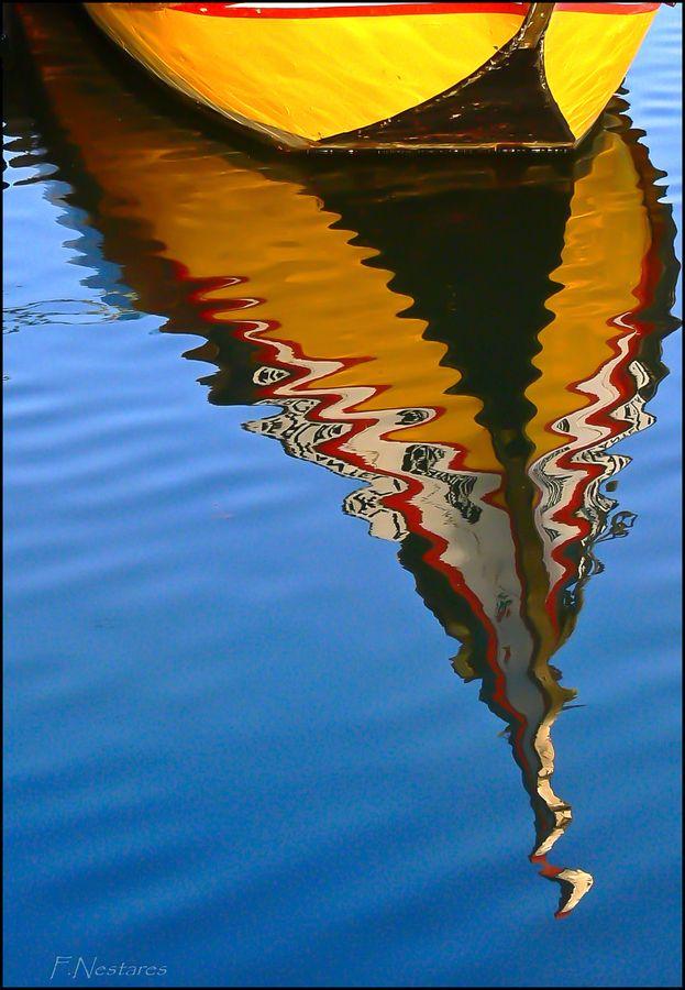 reflection, Aveiro , Portugal