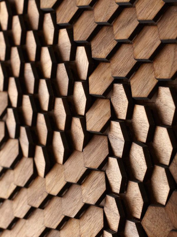 pinterest.com/fra411 #pattern - Highly Original 3D Surface Designs For Innovative Interiors ~ DesignDaily Network