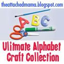 The Attached Mama's Ultimate Alphabet Craft Collection! Just click on the letter and find tons of crafts that other bloggers have added!  HUGE LIST OF CRAFTS!!  I will be visiting her often!!