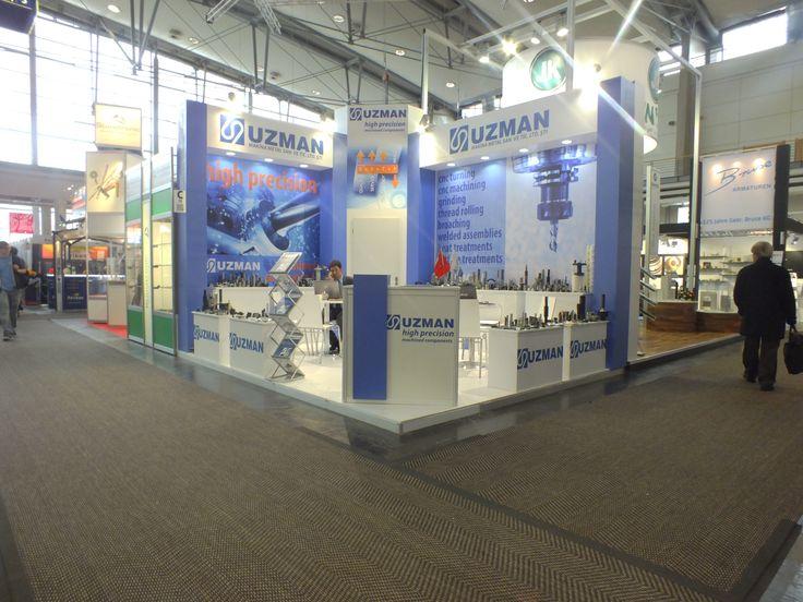 Uzman Exhibition Stand 2013 Germany