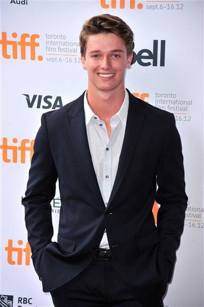 Patrick Schwarzenegger as young Andy in Megan Hart's Deeper