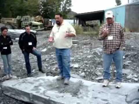 Camara Slate Quarry Tour   Slate Roofing Contractors Association 2010 Co.