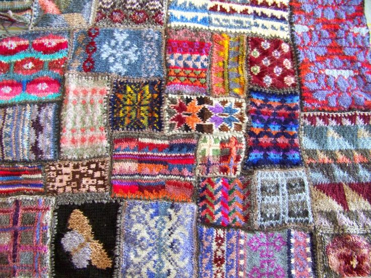 160 best Knitting: Stranded / Fair Isle images on Pinterest | Fair ...