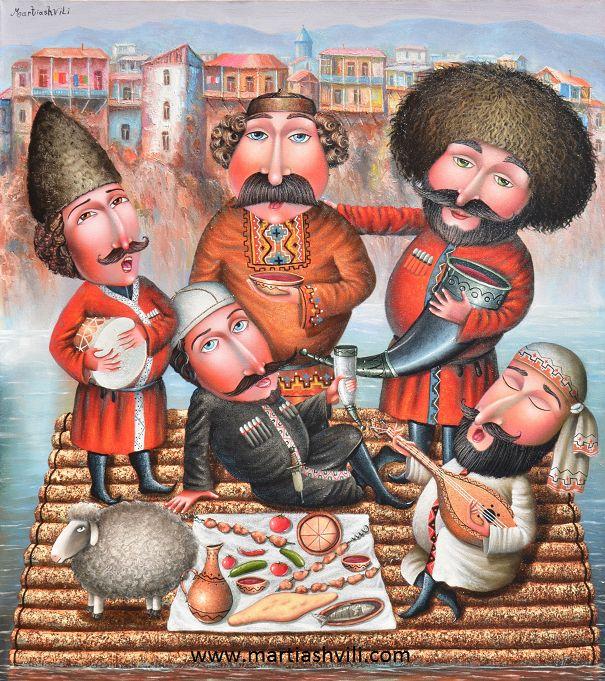 Грузия старые открытки, февраля учишься