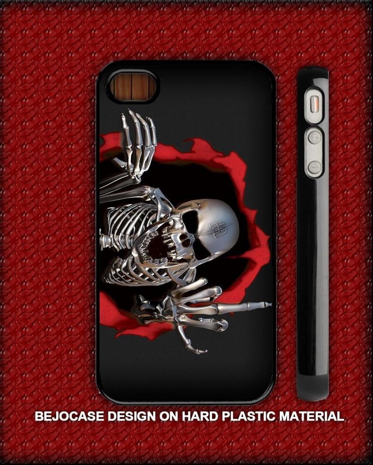 i had love - robot skull for iphone