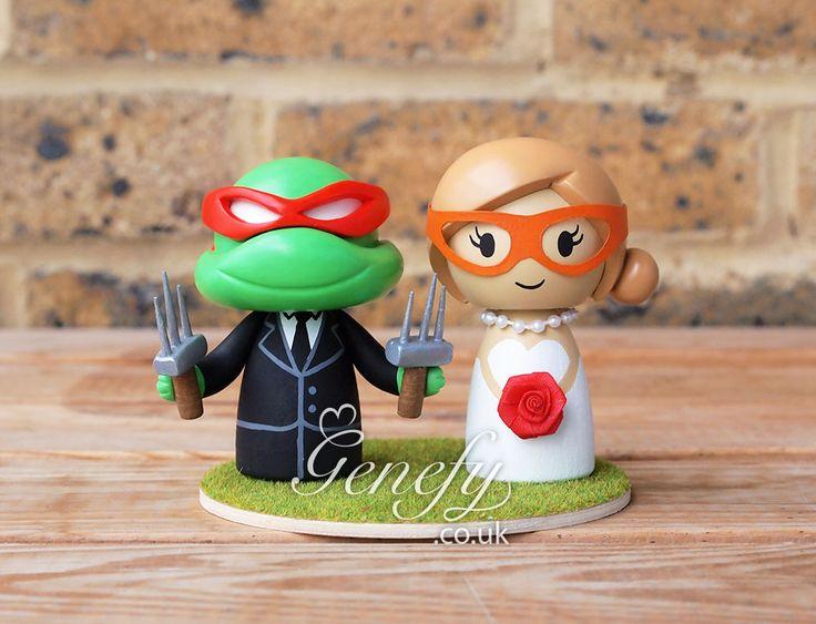 1000+ images about Cute TMNT Ninja Turtle Wedding Cake ...