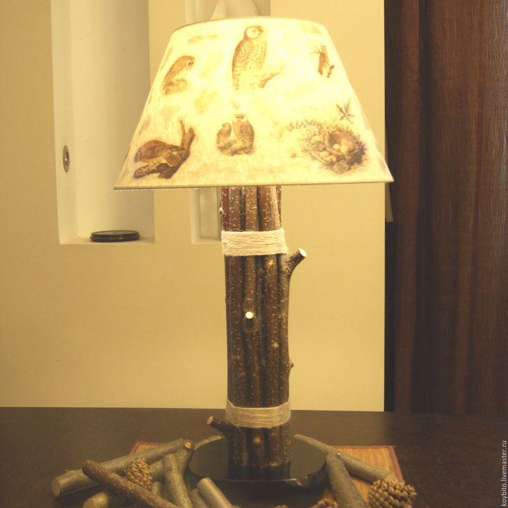 """Купить Светильк """"Лесные совы"""" - лампа, светильник, подарок, интерьер, световое оформление, дизайн интерьера"""