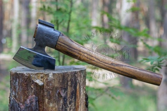 Small Carving Finnish Axe Small Carpenter S Finnish Axe Etsy Axe Carving Danish Oil