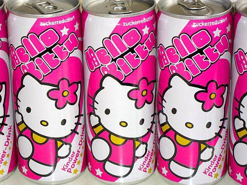 Hello Kitty power drinks PD
