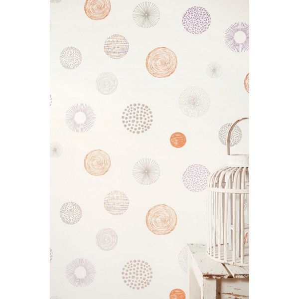 25 best ideas about papier peint chambre enfant on - Chambre enfant orange ...