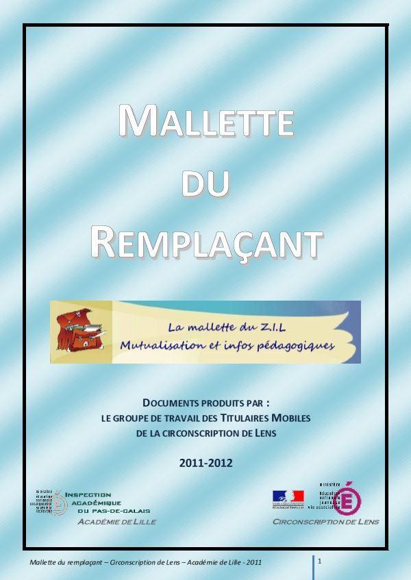 La mallette du zil outils professionnels programmations et valuations truc de maicresse - Mallette a dessin professionnel ...