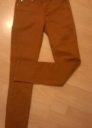 Kaufe meinen Artikel bei #Kleiderkreisel http://www.kleiderkreisel.de/damenmode/rohrenhosen/94377718-orange-braune-hose-orsay