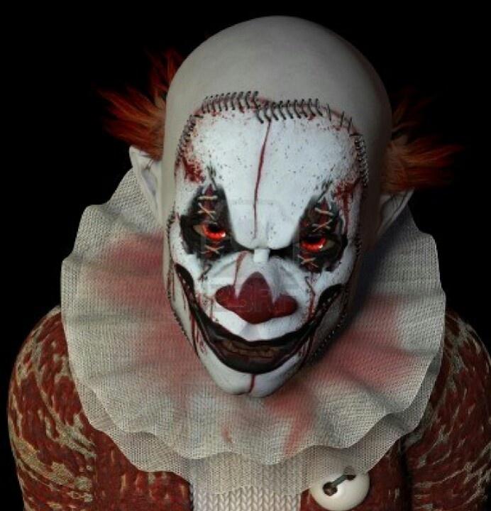 Very Scary Halloween Decorations: Best 25+ Halloween Clown Scary Ideas On Pinterest