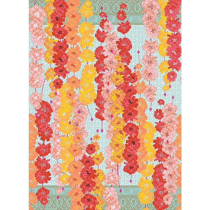 best oh sweet wrapping paper images wrap gifts  inspired by marigold garlands used in weddings festivals and other celebrations in this ele