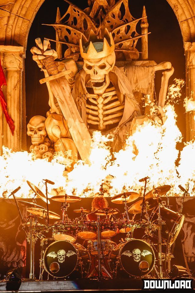 Hail To The King Avenged Sevenfold Rock Festivals Best Rock Bands