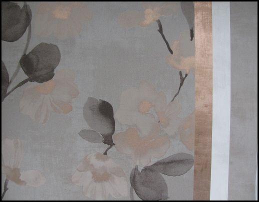 bronze accent wallpaper