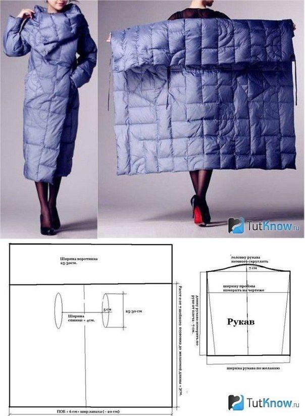 Портной • Шитье, переделки - легко!Пальто Квадрат