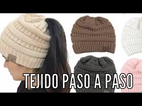 GORRO PARA CHONGO TEJIDO PASO A PASO EN 2 AGUJAS - YouTube  5eb70defbfc