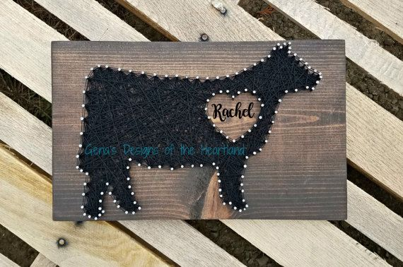 Hey, I found this really awesome Etsy listing at https://www.etsy.com/listing/511434967/string-art-sign-heifer-show-livestock