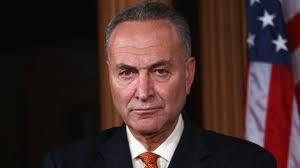 Chuck Shumer is [      ] promoting constitutional amendment he has; against any and all1st Amendment speech-right!' This ban - congress to control all speech content 'going-forward' - Jew' are not to be questioned, or outed, or exposed as bankers etc., to any form of dissent that of any kind in word, deed, or in writing period; there will be consequences and etc. 'Al!'  [pissed]