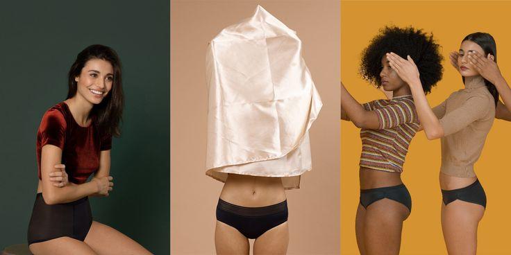 Criadas por três amigas, as Period Panties permitem-lhe que durante a menstruação, não use tampões ou até mesmo pensos higiénicos.