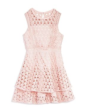 Bardot Junior Girls' Tiered Lace Dress - Big Kid-Kids #canada #canadian  http://www.planetgoldilocks.com/canadiancoupons #shopping